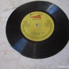 Discos de vinilo: CUENTOS INFANTILES - EL GATO CON BOTAS - MUÑECAS ONIL - TYBER 1963. Lote 210709029