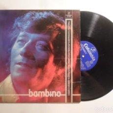 Disques de vinyle: LP - BAMBINO - COLUMBIA - 1973. Lote 210719817