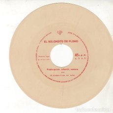 Discos de vinilo: EL SOLDADITO DE PLOMO, FLEXI-DISC CON GRAVACION SONORA Nº 17- COLECCION CBB 1970. Lote 210721536