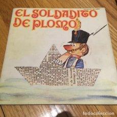 Discos de vinilo: EL SOLDADITO DE PLOMO - SINGLE MOVIEPLAY 1971 ROJO CON CUENTO. Lote 210721825