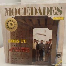 Discos de vinilo: MOCEDADES/EUROVISION 1973/-ERES TU/RECUERDOS DE MOCEDAD/SINGLE 1973 NOVOLA,ESPAÑA. Lote 210722167