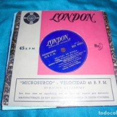 Discos de vinilo: RECITAL DE OPERA. TOSCA, TURANDOT, MANON LESCAUT...EP. EDT. LONDON. SPAIN. Lote 210723366