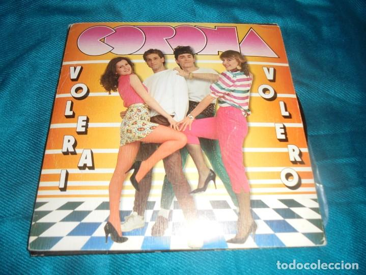 CORONA. VOLERAI VOLERO / BELLA COTTA. PROMOCIONAL CON CARTA . MOVIEPLAY, 1982. IMPECABLE (Música - Discos - Singles Vinilo - Canción Francesa e Italiana)