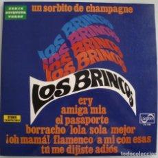 Discos de vinilo: LOS BRINCOS (LP ZAFIRO 1973) PRIMERA EDICION. Lote 210734781