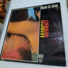 Discos de vinilo: MAINGUY - BESOIN DE T'AIMER. Lote 210736149