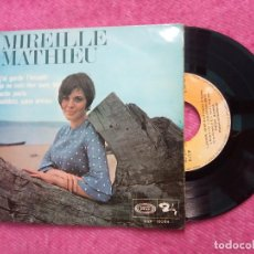 Discos de vinilo: EP MIREILLE MATHIEU - J'AI GARDE L'ACCENT +3 - SBP 10094 - SPAIN PRESS (EX/NM). Lote 210739894