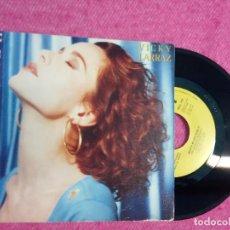 Discos de vinilo: SINGLE VICKY LARRAZ - MUCHA MUJER PARA TI - ARLC 1103 - SPAIN PRESS PROMO 1 SIDED (VG++/EX-). Lote 210742365