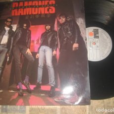 Discos de vinilo: RAMONES.HALFWAY TO SANITY (ARIOLA-1987) PRIMERA EDICION OG ESPAÑA LEA DESCRIPCION. Lote 210745140