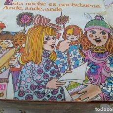 Discos de vinilo: CORO Y RONDALLA ALEGRÍA - ESTA NOCHE ES NOCHEBUENA +1 (IBERIA, 1968) = PROMO DETERGENTE SKIP. Lote 210747149