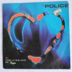 Discos de vinilo: DISCO VINILO SINGLE 45 RPM THE POLICE EVERY LITTLE THING SHE DOES IS MAGIC 1981. Lote 210747152