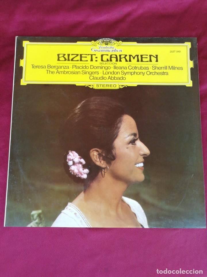 BIZET: CARMEN (Música - Discos de Vinilo - Maxi Singles - Clásica, Ópera, Zarzuela y Marchas)