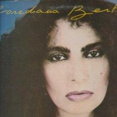 Discos de vinilo: LP LOREDANA BERTE' JAZZ 1983 INCLUDED IL MARE D'INVERNO DI ENRICO RUGGERI LABEL CBS ITALY. Lote 210750519