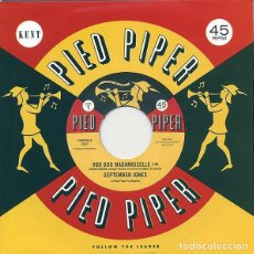 "Discos de vinilo: SEPTEMBER JONES / FREDDY BUTLER – VOO DOO MADAMOISELLE / THAT'S WHEN I NEED YOU VINYL, 7"",SINGLE. Lote 210750625"