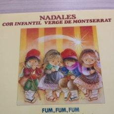 Discos de vinilo: NADALES (VILLANCICOS) CORO INFANTIL VIRGEN DE MONTSERRAT 1987. Lote 210753224