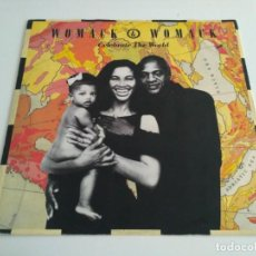 Discos de vinilo: WOMACK & WOMACK - CELEBRATE THE WORLD. Lote 210757696