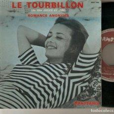 "Discos de vinilo: MIREILLE MIAILHE 7"" FRANCIA 45 LE TOURBILLON JULES Y JIM SINGLE VINILO 1962 BANDA SONORA IMPORTACION. Lote 210759936"