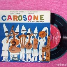 Discos de vinilo: EP RENATO CAROSONE E IL SUO SESTETTO - PICCOLISSIMA SERENATA +3 - SPAIN PRESS (VG++/EX). Lote 210761547