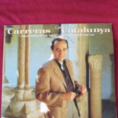 Discos de vinilo: JOSEP CARRERAS. CANTA A CATALUNYA. DOBLE LP. Lote 210761697