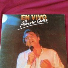 Discos de vinilo: ALBERTO CORTEZ. EN VIVO. DOBLE LP. Lote 210762069