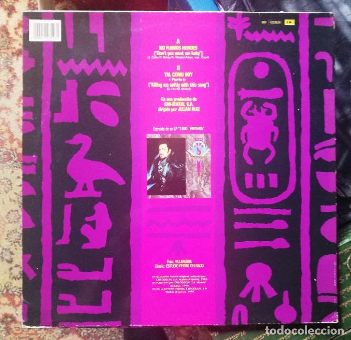 Discos de vinilo: TINO CASAL No fuimos heroes/Tal como soy (EMI 1990) - Foto 3 - 41730338