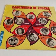 Discos de vinilo: BAL-3 DISCO VINILO GRANDE 12 PULGADAS CANCIONERO DE ESPAÑA. Lote 210765460