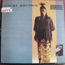 Discos de vinilo: MAXI - OCHI BROWN - WHENEVER YOU NEED SOMEBODY ( TWO VERSIONS) / I PLAY GAMES. Lote 210765797