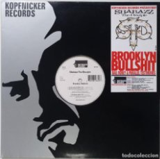 "Discos de vinilo: KOPFNICKER - BROOKLYN BULLSHIT [[ GERMANY HIP HOP / RAP ORIGINAL EXCLUSIVO]] [MX 12"" 33RPM] [2000]]. Lote 210765844"