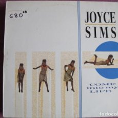 Discos de vinilo: LP - JOYCE SIMS - COME INTO MY LIFE (SPAIN, LONDON RECORDS 1987). Lote 246642065