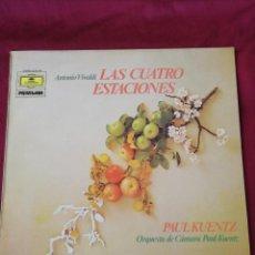 Discos de vinilo: LAS CUATRO ESTACIONES. VIVALDE.. Lote 210767427