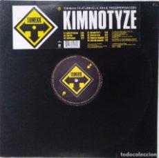 "Discos de vinilo: DJ TOMEKK - KIMNOTYZE FT. LIL KIM & TROOPE [[GERMANY HIP HOP / RAP ORIGINAL]] [MX 12"" 33RPM] [2002]]. Lote 210767849"