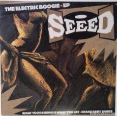 "Discos de vinilo: SEEED - THE ELECTRIC BOOGIE EP [GERMANY HIP HOP / REGGAE EXCLUSIVO ORIGINAL] [MX 12"" 33RPM] [2003]. Lote 210769235"