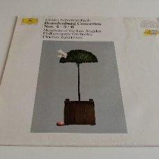 Discos de vinilo: BAL-3 DISCO VINILO GRANDE 12 PULGADAS JOGANN SEBASTIAN BACH BRADENBURG CONCERTOS NOS. 4.5.6. Lote 210769321