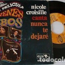 """Discos de vinilo: NICOLE CROISILLE THE T & B 7"""" SPAIN 45 LOS JOVENES LOBOS SINGLE VINILO 1968 BANDA SONORA RIVIERA VER. Lote 210769637"""