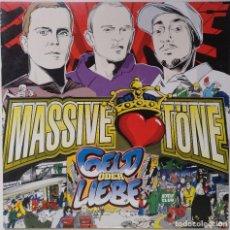 "Discos de vinilo: MASSIVE TÖNE - GELD ODER LIEBE [GERMANY HIP HOP / RAP EXCLUSIVO ORIGINAL] [MX 12"" 33RPM] [2002]. Lote 210769642"