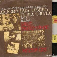 """Discos de vinilo: LALO MARTEL 7"""" SPAIN 45 CANCIONES PARA DESPUES DE UNA GUERRA SINGLE VINILO 1976 BUEN ESTADO MIRA !!!. Lote 210770430"""