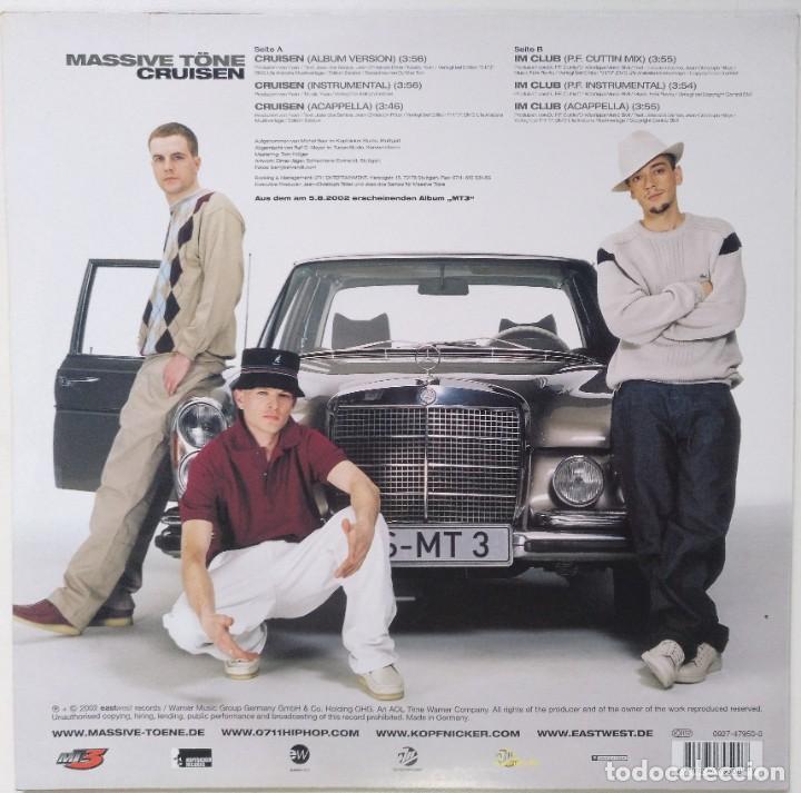 "Discos de vinilo: MASSIVE TöNE - CRUISEN / CLUB [[GERMANY HIP HOP / RAP EXCLUSIVO ORIGINAL]] [[MX 12"" 33RPM]] [[2002]] - Foto 2 - 210770789"