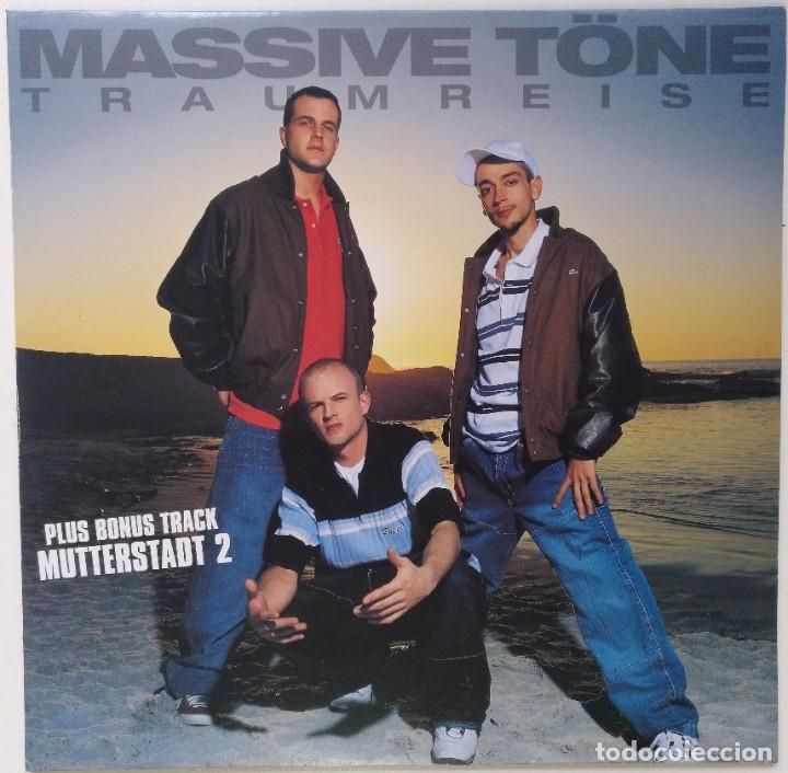 "MASSIVE TÖNE - TRAUMREISE [[GERMANY HIP HOP / RAP EXCLUSIVO ORIGINAL]] [[MX 12"" 33RPM]] [[2003]] (Música - Discos de Vinilo - Maxi Singles - Rap / Hip Hop)"