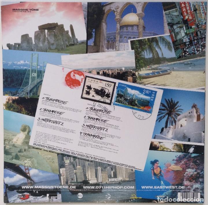 """Discos de vinilo: MASSIVE TöNE - TRAUMREISE [[GERMANY HIP HOP / RAP EXCLUSIVO ORIGINAL]] [[MX 12"""" 33RPM]] [[2003]] - Foto 2 - 210771260"""