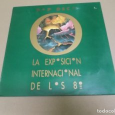 Discos de vinilo: POP DECO (MAXI) LA EXPOSICION INTERNACIONAL DE LOS 80 (4 TRACKS) AÑO – 1986. Lote 210772902