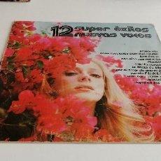 Discos de vinilo: BAL-3 DISCO VINILO GRANDE 12 PULGADAS 12 SUPER EXITOS NUEVAS VOCES. Lote 210772939