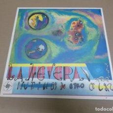 Discos de vinilo: LA NEVERA (MAXI) NUDILLOS DE OTRO COLOR (6 TRACKS) AÑO – 1991. Lote 210773055