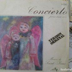 Discos de vinilo: SAINT PREUX - CONCIERTO PARA UNA VOZ + VARIACIONES (HISPAVOX, 1969). Lote 210775112