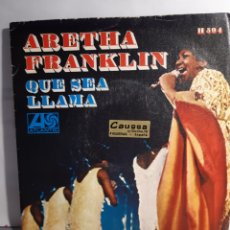 """Discos de vinilo: MARTHA FRANKLIN-QUE SEA """"LET IT BE""""/LLAMA """"CALL ME"""". Lote 210775530"""