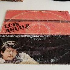Discos de vinilo: BAL-3 DISCO VINILO GRANDE 12 PULGADAS LUIS AGUILLE CON AMOR O SIN AMOR. Lote 210775769