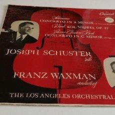 Discos de vinilo: BAL-3 DISCO VINILO GRANDE 12 THE LOS ANGELES ORCHESTRAL SOCIETY. Lote 210777772
