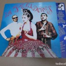 Discos de vinilo: LOS PECADORES (LP) PECADO DE AMOR AÑO – 1992 – HOJA CON LETRAS. Lote 210778084