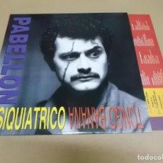 Discos de vinilo: PABELLON PSIQUIATRICO (LP) TONGO BANANA AÑO – 1991 – HOJA CON LETRAS. Lote 210779399