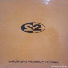 Discos de vinilo: 2 UNLIMITED - TWILIGHT ZONE (MILLENIUM REMIXES). Lote 210780394