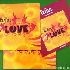 Discos de vinilo: THE BEATLES LOVE (DOBLE) VINILOS DE 180 G.. Lote 210781221