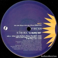 Discos de vinilo: STRIKE - U SURE DO. Lote 210781314